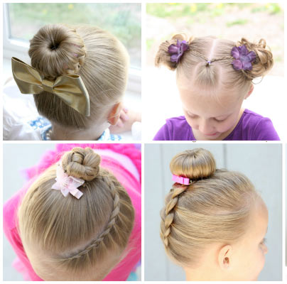 مدل موی کودکانه