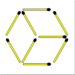 Easy Triangles Matchsticks Puzzle